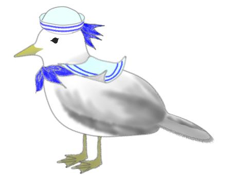 Seagull sailor