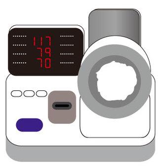 Sphygmomanometer type of hospital