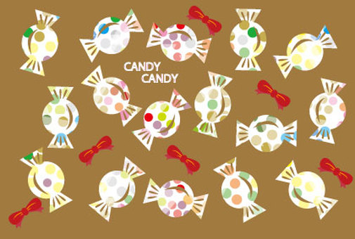 Cute CANDY candy background