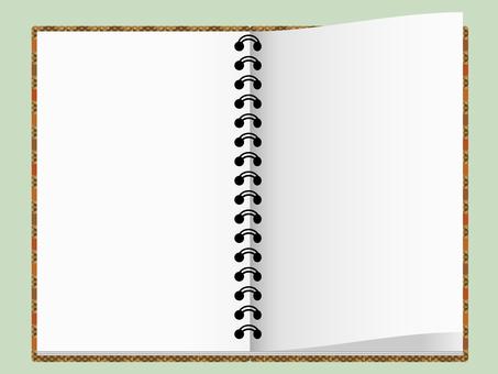Spread sketchbook