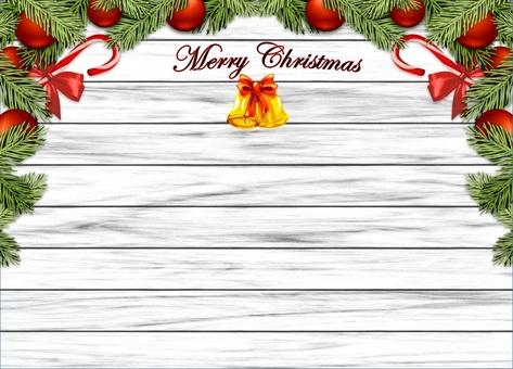 Merry Christmas · White (wood grain · sideways)