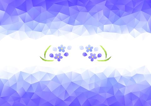 Lavender color polygon background