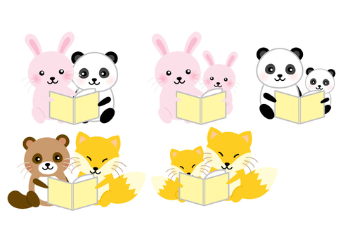 Animal Reading Letter Set