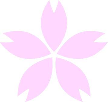 파스텔 벚꽃