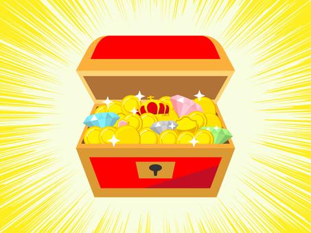Treasure chest found