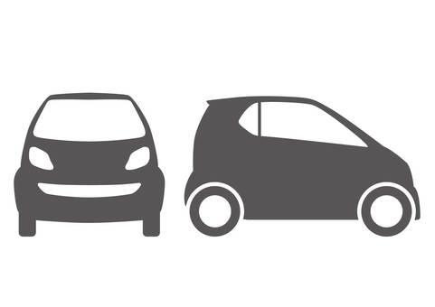 Automobile / pictogram style