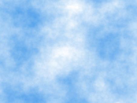 The dead blue sky