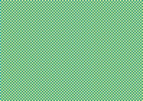 市松綠色漸變02