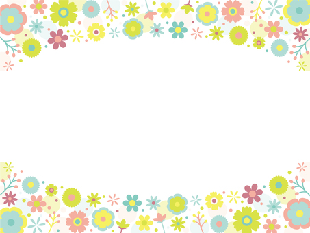 Colorful Pop Flower Frame ~ Part 3 ~