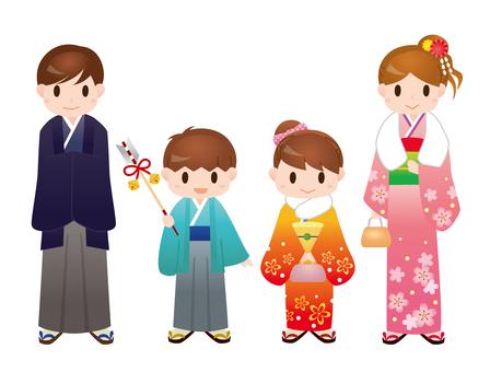 Kimono family