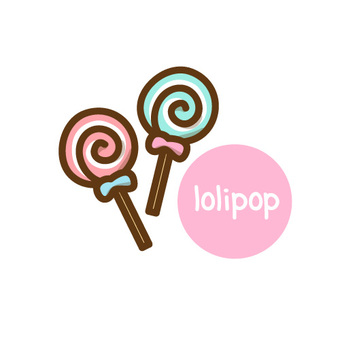 Candy icon illustration