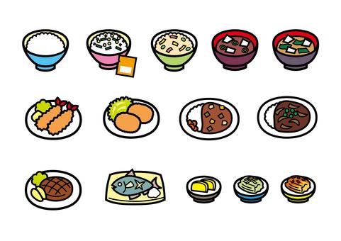Meal icon home cooking menu menu