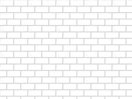 Pattern brick (real / white)