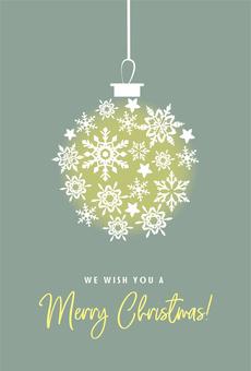 Christmas postcard material 2-2