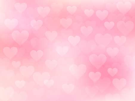 Heart Background (Coral Pink)