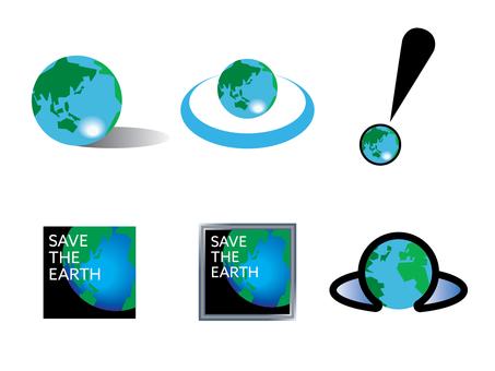 環境を守るイメージセット01