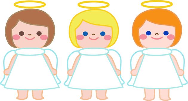 Angel chan three people