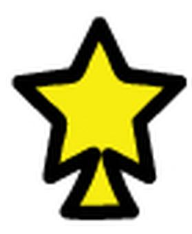 Overlapping tree (star 1)