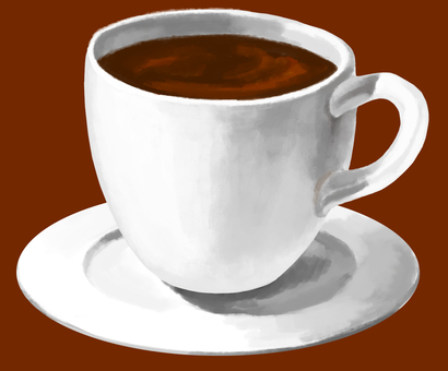 커피 접시 포함