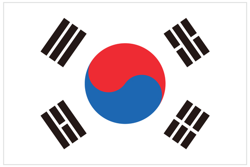 National flag _ Korea