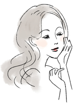 Beauty illustration