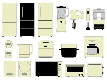 Kitchen Appliances Set