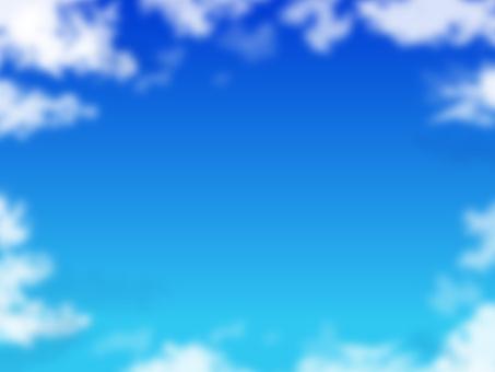 구름과 푸른 하늘 15