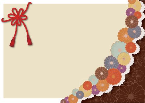 Japanese Pattern Background 3 Chrysanthemum pattern
