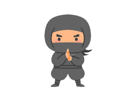 Ninja illustrations