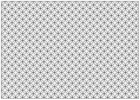 Cloisonne pattern Cloisonne connection