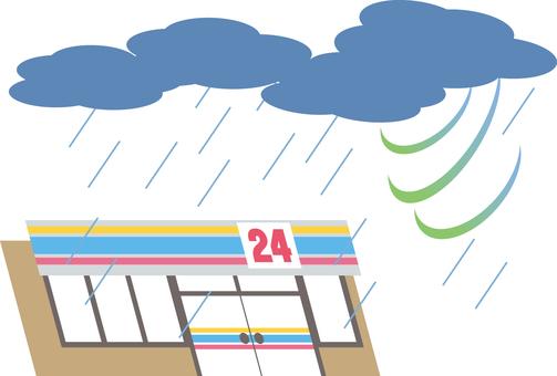 Convenience store (storm)