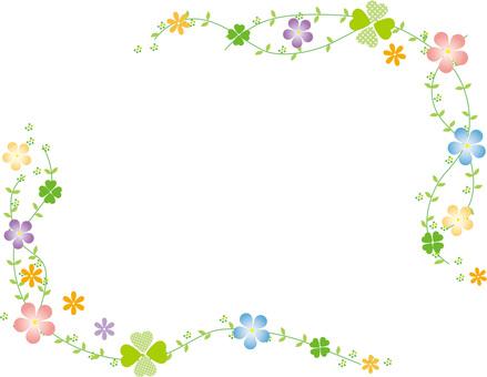 伏特加和花框架