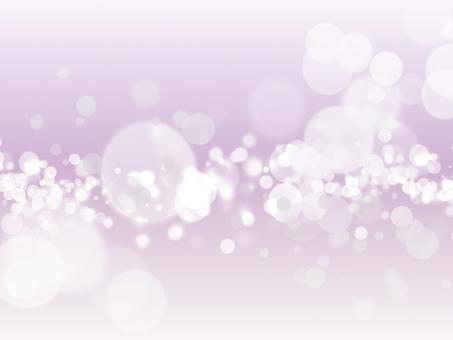 Purple fluffy