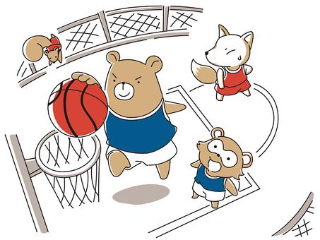 Animal basketball