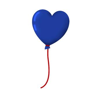 Valentine's Heart type balloon ③