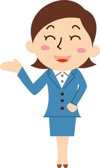 Company employee female here