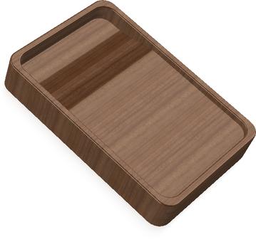 Suzuri (wooden)