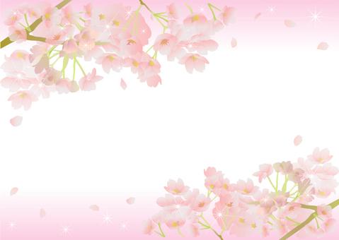 Cornice di ciliegio