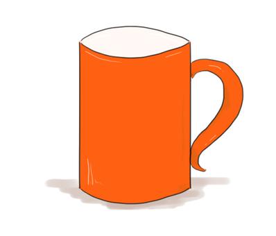 Mug (Orange)