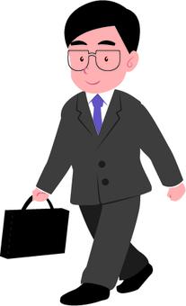 Japanese office worker