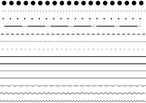 Line (monochrome)
