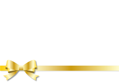 Frame - Double Ribbon Gold 1