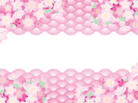 패턴 (60) 봄의 벚꽃