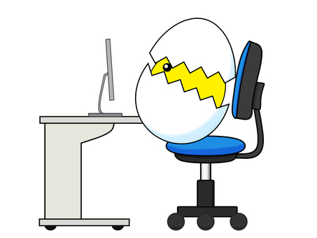 Desk work Bad posture postponed