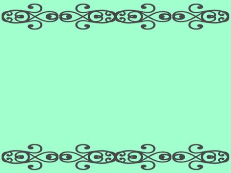 Decorative background green