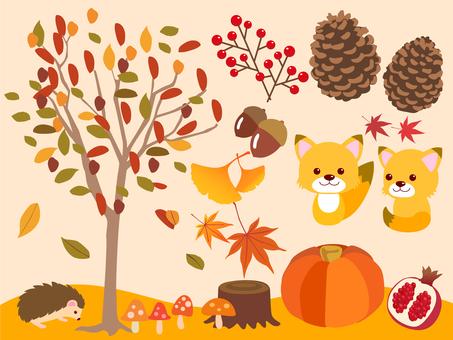 가을의 동물들