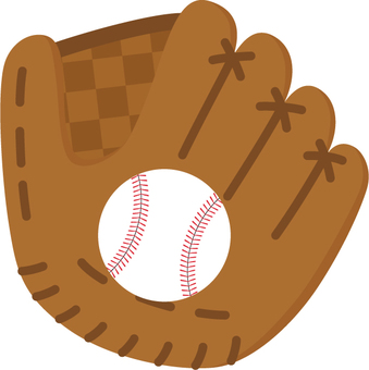 野球_グローブとボール