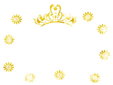 Tiara frame