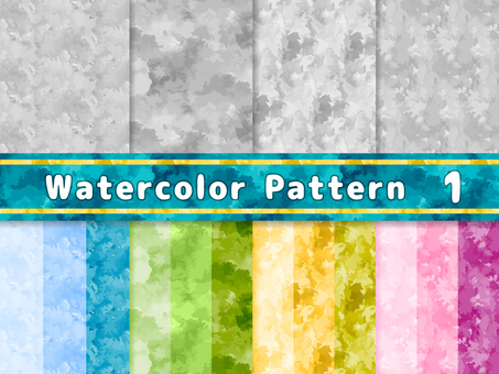 Watercolor texture pattern 1