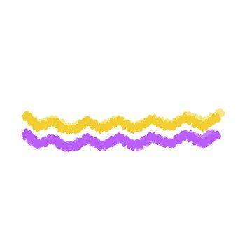 Wavy line